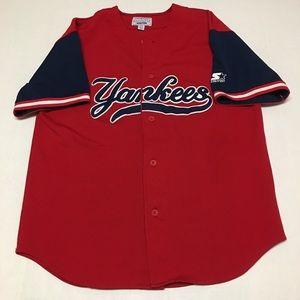 Vintage starter New York Yankees baseball jersey